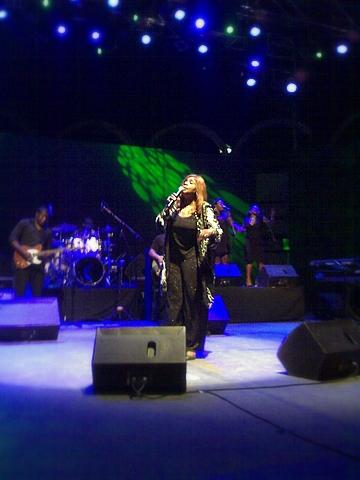 Gloria Gaynor en San Javier, Murcia, España
