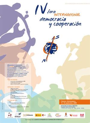 IV Foro Democracia y Cooperación