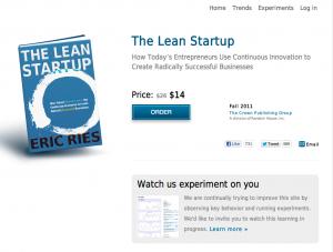 La misma página del libro, http://lean.st/, es un experimento constante