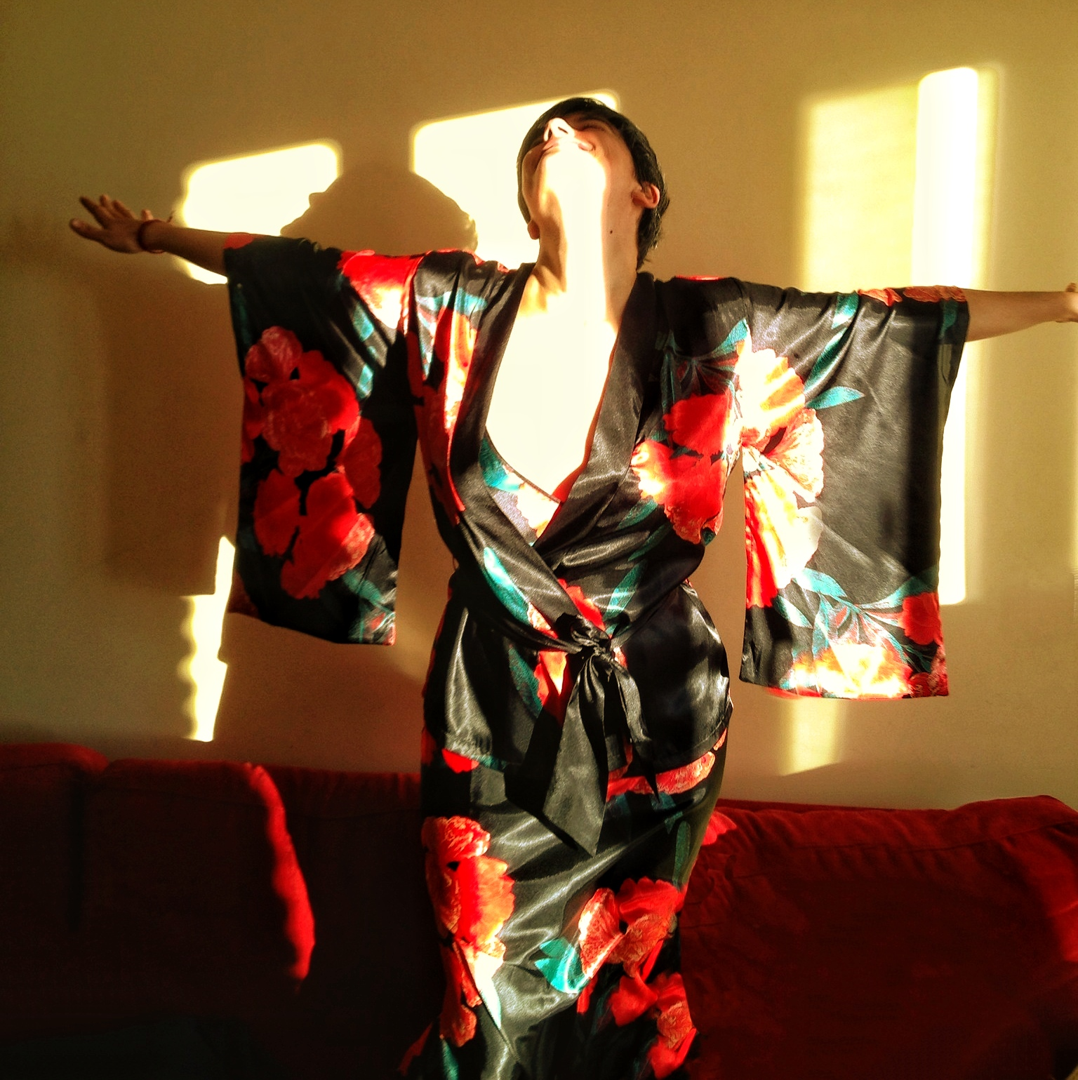 Kimono a lo Amanda Palmer