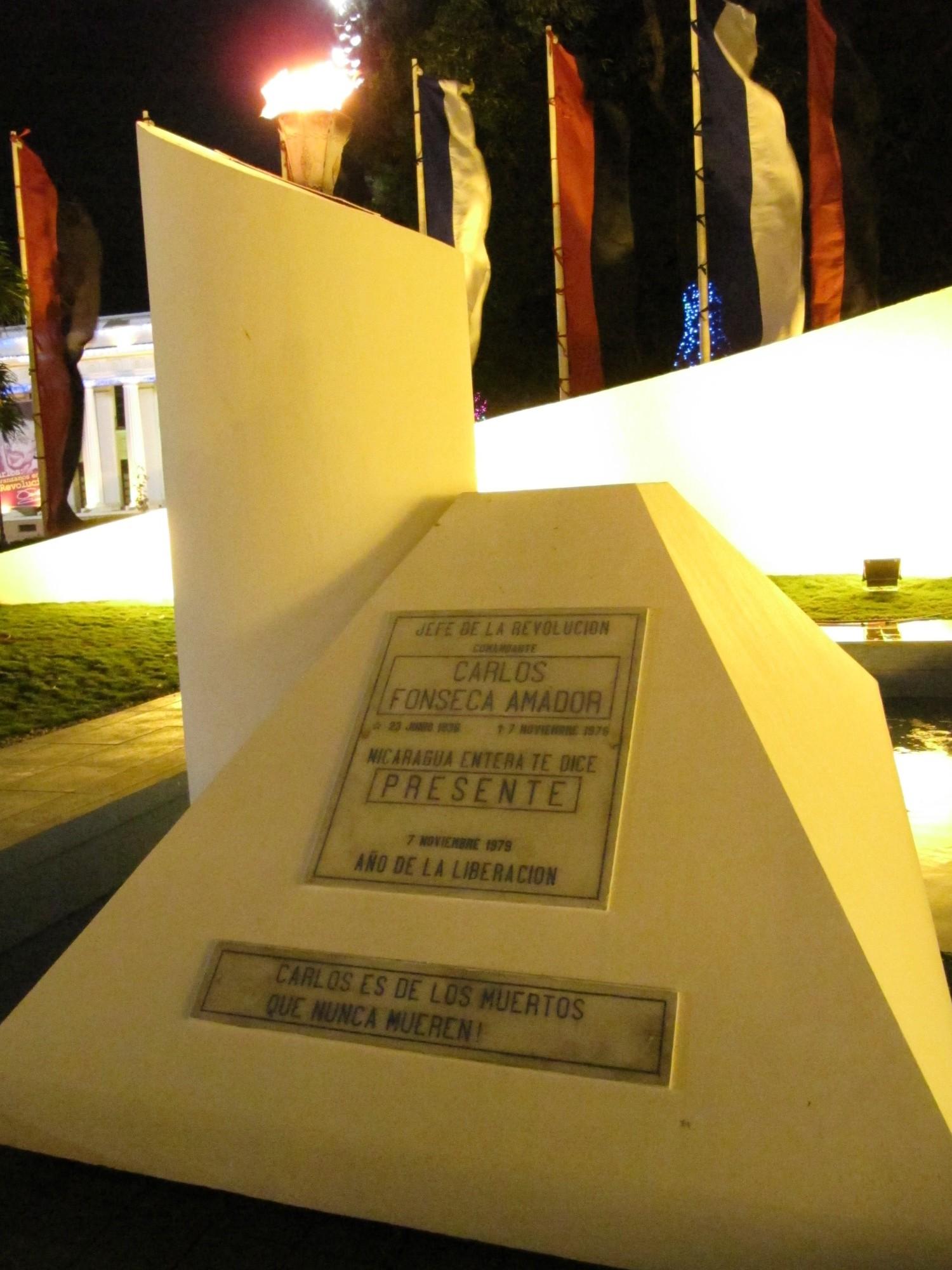 Monumento a Carlos Fonseca, Managua, 2013