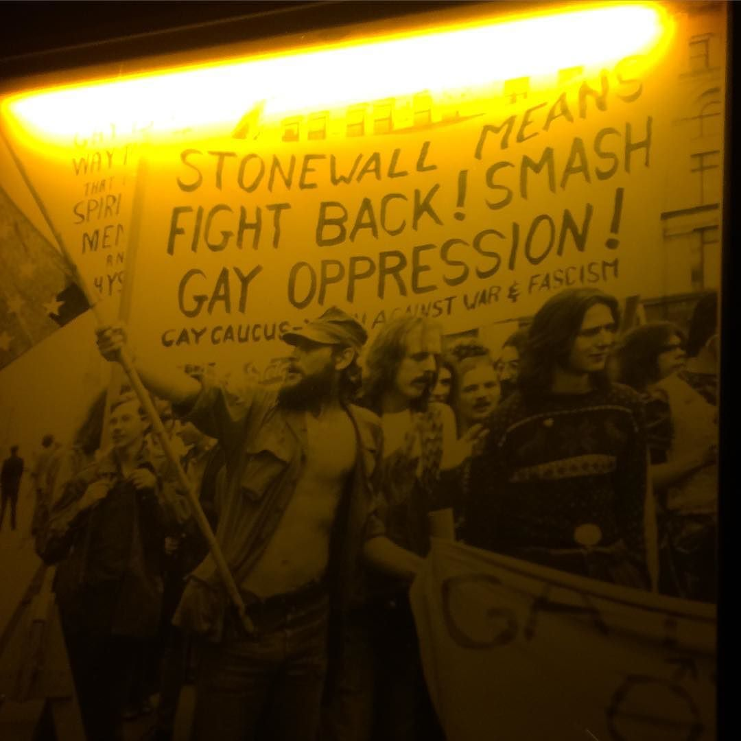 Stonewall means fight back! Smash gay oppression!