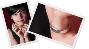 """El anillo, recortado de una foto con mi mejor postura de """"excelente"""" de Montgomery Burns"""