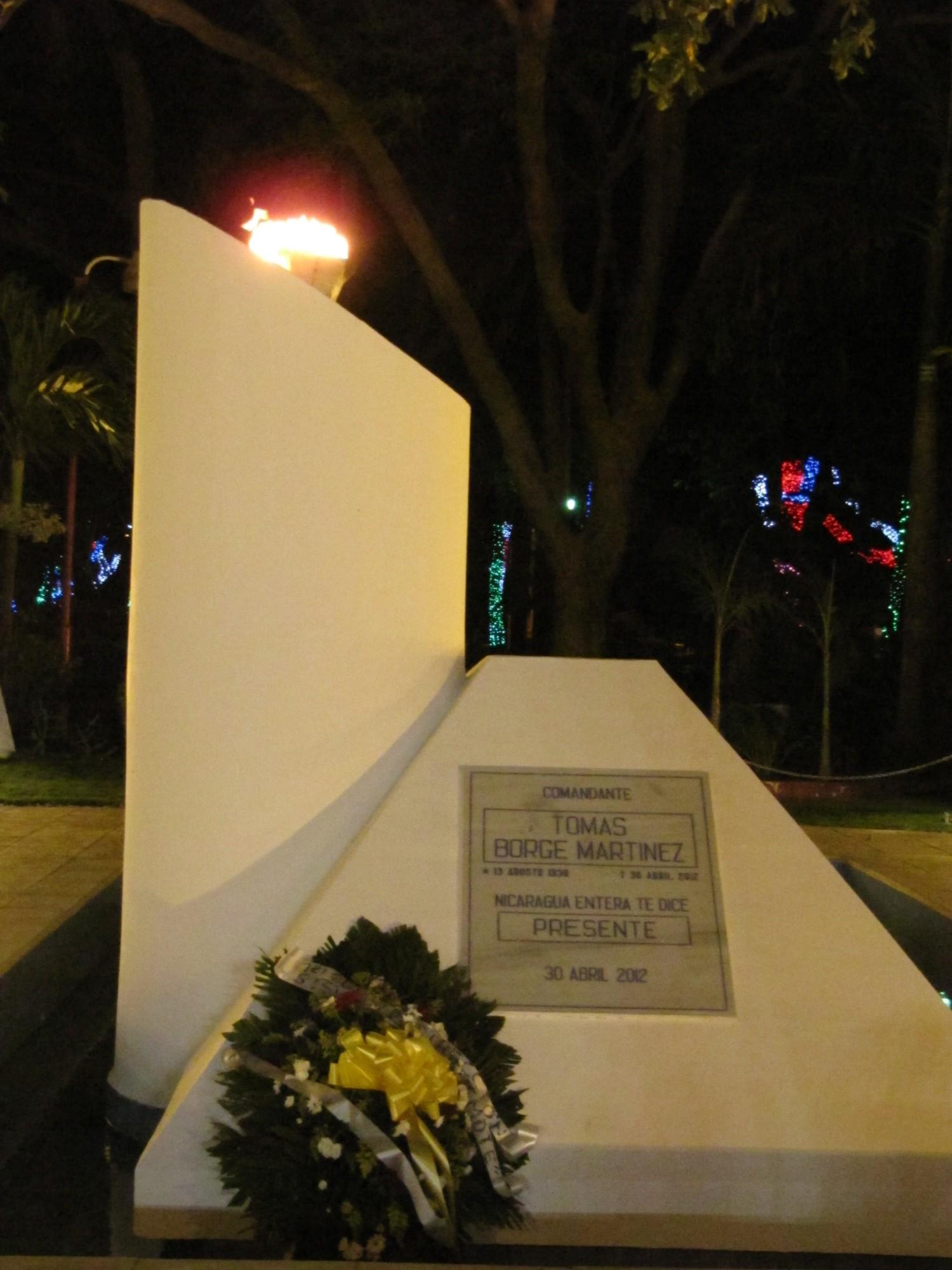 Monumento a Borge, Managua, 2013